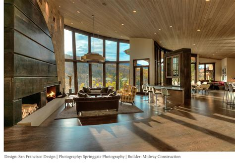 Modern Mountain Design  Park City Interior Designers