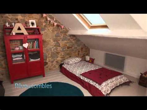 une chambre pour quatre visite d 39 une grande chambre pour enfants sous combles