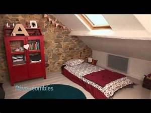 Chambre Sous Les Combles : visite d 39 une grande chambre pour enfants sous combles youtube ~ Melissatoandfro.com Idées de Décoration