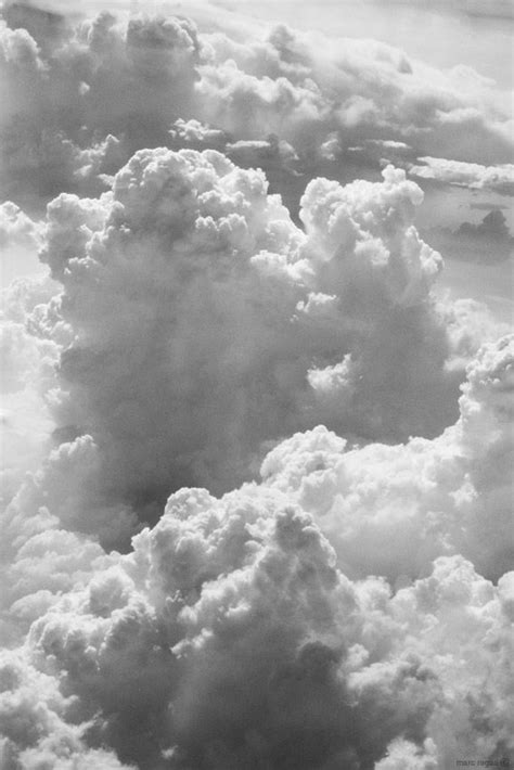 clouds by marc regas black and white picture wall