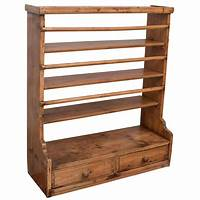 hanging plate rack Pine Hanging Plate Rack at 1stdibs
