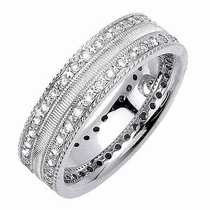 mens gold diamond wedding rings men wedding rings with With man s wedding ring with diamonds