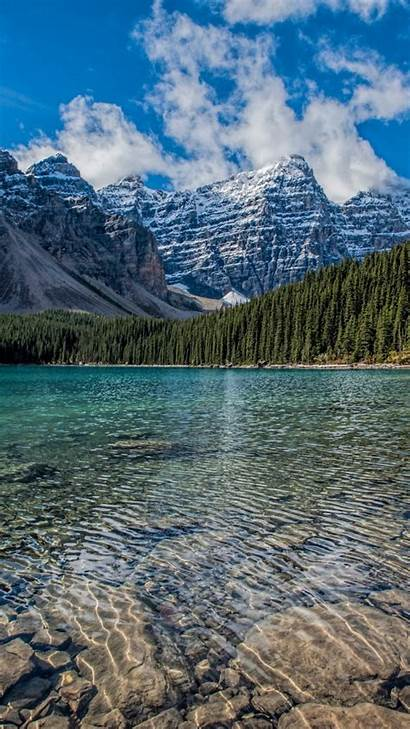 4k Lake Clean Mountains Iphone Nature Wallpapers