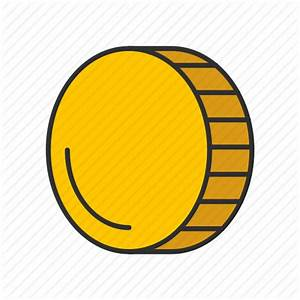 Coin, gold, gold coin, money icon | Icon search engine