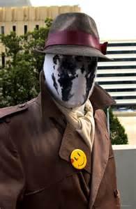 Watchmen Rorschach Cosplay