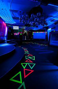 Glow In The Dark Themed Myplace Tuesdays Room 680
