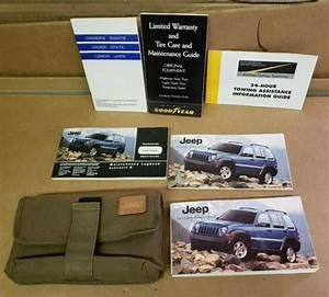 2005 Jeep Liberty Owners Manual User Guide Book With Case