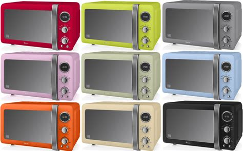 colorful microwaves the best small microwaves for compact uk kitchens 2018