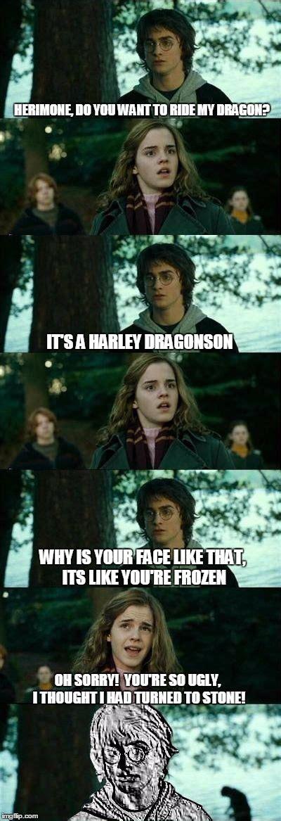 Horny Harry Meme - dragon harry imgflip