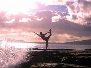 Yoga Sunset - Beaches & Nature Background Wallpapers on ...