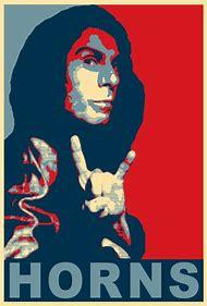 Ronnie James Dio Metal Horns