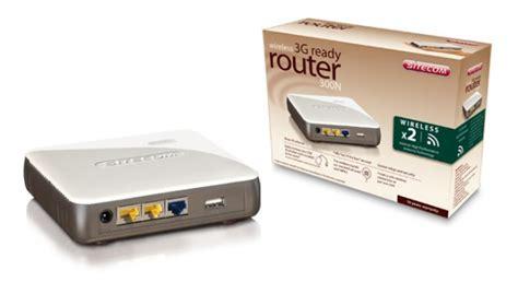 Sitecom Router 300n X2, E Condividi L'accesso 3g