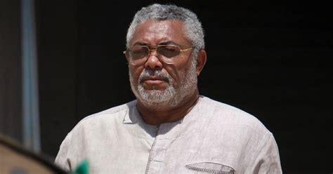 jerry rawlings biography   president  ghana