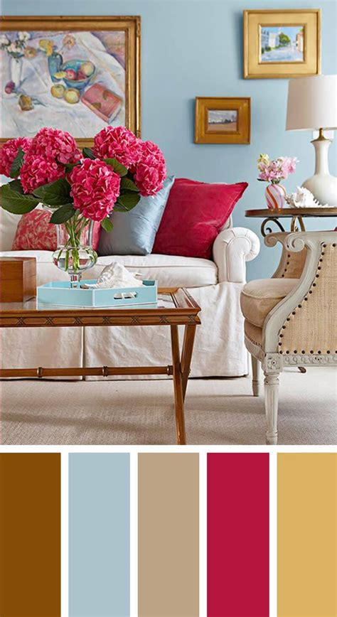 Ideas Colour Schemes by 7 Living Room Color Schemes That Will Brighten Your Mood