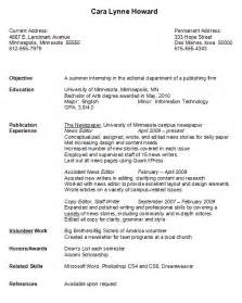 best resume for college graduate college graduate resume exle