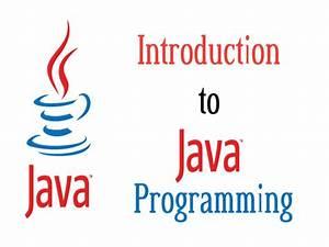 Java, Introduction