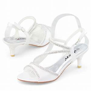 shoezy brand white kitten heels small thin low heel With low heel dress shoes for wedding
