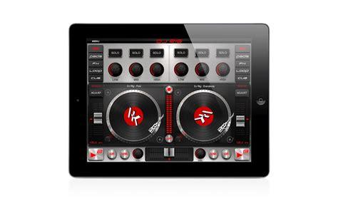 ipad mixing desk app kvr dj rig for ipad by ik multimedia professional dj