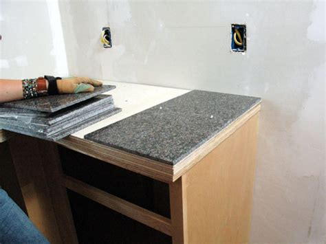 How To Install A Granite Tile Kitchen Countertop  Howtos