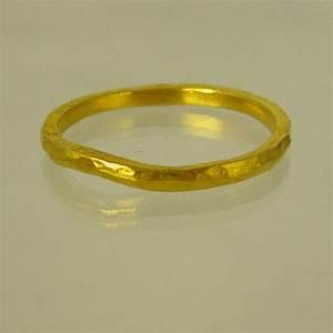 items similar to 24 karat ring unisex ring man wedding With 24 karat gold wedding ring