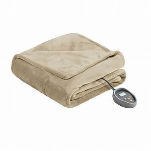 Beautyrest Microlight To Berber Heated Blanket