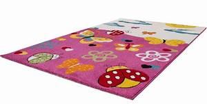 tapis pour enfant en polypropylene rose creme dixi pas cher With tapis enfant rose