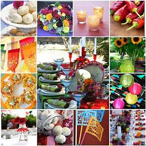 Sheek shindigs party inspiration a mexican inspired for Mexican themed wedding shower