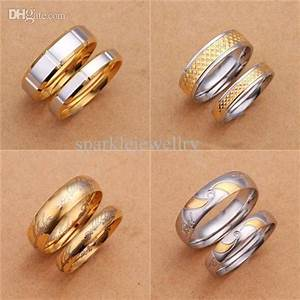 Letters engraved wedding engagement couple ring fr136 for Wedding rings with letters