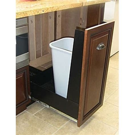 kitchen cabinet with trash bin trash cans trash or recycling cabinet with trash cans by 7983