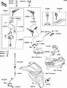 Kawasaki Zr1000a6f 2006 Ignition Switch Supplied Next Day