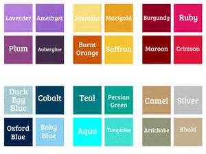Different Shades of Blue Color Names