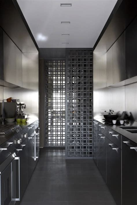 Modern Galley Kitchen   Modern   kitchen   Burley Katon