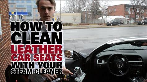 steam clean leather car seats dupray steam