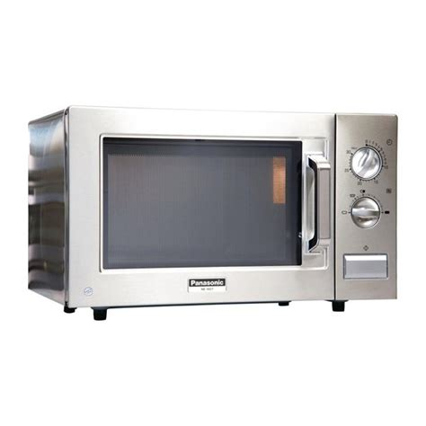 Microwave ovens should not be built into a unit directly above a top front venting conventional cooker. How Do You Program A Panasonic Microwave - PANASONIC NN-DS596BBPQ Combination Microwave - Black ...