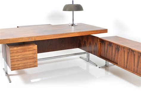 Sideboard Desk by 1960s Rosewood Desk With Sideboard Room Of