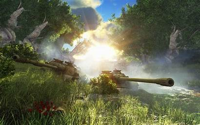 Tanks Wot Wallpapers Ecran Blitz Fond Warplanes