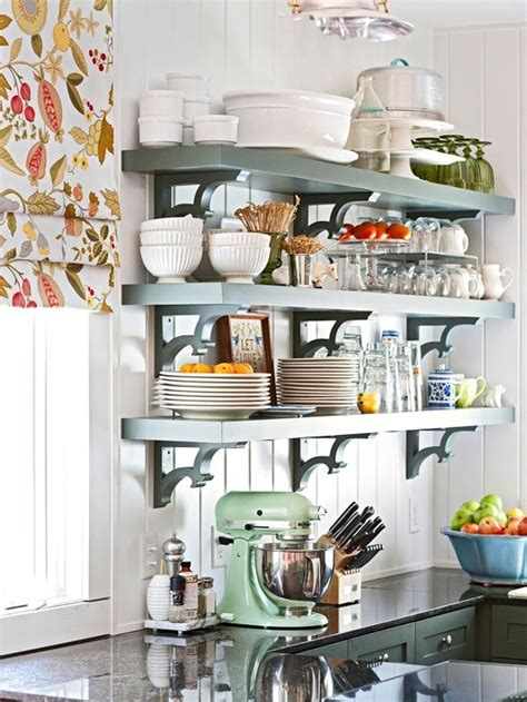stunning open kitchen shelves designs  cottage market