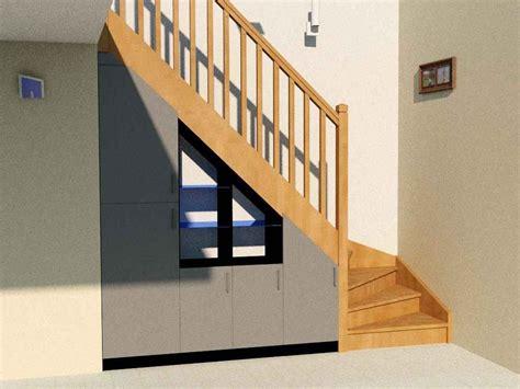 amenagement sous escalier tournant am 233 nagement sous escalier quart tournant partie 2
