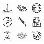 Space Icons Icon Planet Svg Font Packs