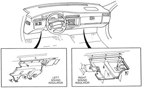 auto manual repair 1996 cadillac eldorado instrument cluster repair guides interior instrument panel and pad autozone com