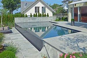 Infinity Pool Bauen : pool am hang selber bauen wohn design ~ Frokenaadalensverden.com Haus und Dekorationen