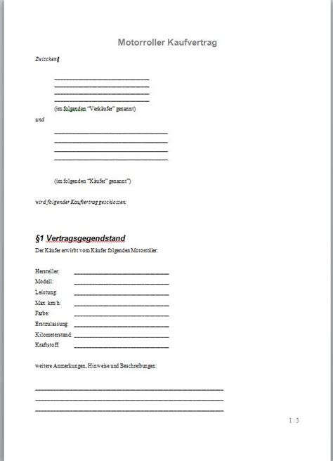 Check spelling or type a new query. Kaufvertrag Roller - Kaufvertrag Muster