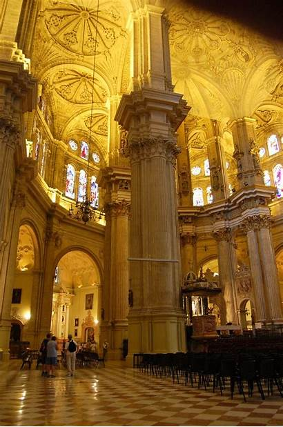 Spain Cathedral Malaga Shaped Dome Florence Putting
