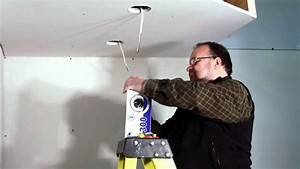 Installer Spot Plafond Existant : eclairages encastr s bazz comment installer des spots ~ Dailycaller-alerts.com Idées de Décoration