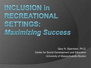 National Inclusion Project Conference Keynote