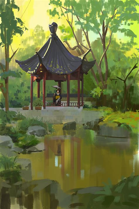 349365 Japanese Garden By Snatti89 On Deviantart