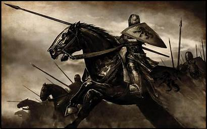 Medieval Horses Knights Artwork Animals Mountblade Wallpapers