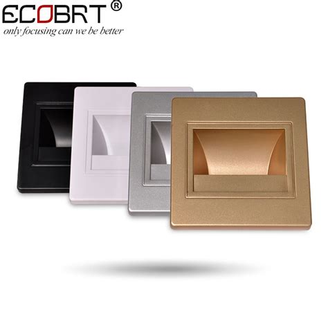aliexpress buy modern recessed led stair lights new square led wall ls 100 240v 1 5w
