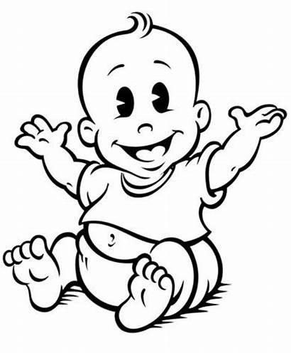 Clip Clipart Boy Shower Babies Cartoon Bottle