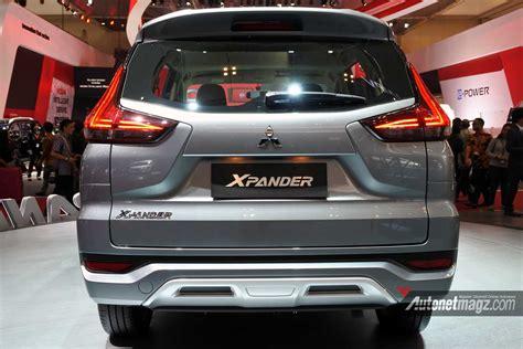 Gambar Mobil Mitsubishi Xpander by Mitsubishi Xpander Rear View Autonetmagz Review Mobil